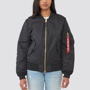 Alpha Industries bomber jacket, MA-1 W, small
